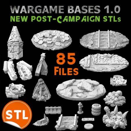 New Post-Campaign STLs (85 files)