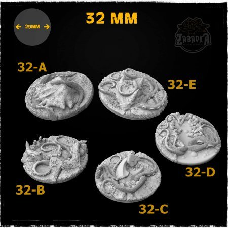Cthulhu Resin Base Toppers - Core Set