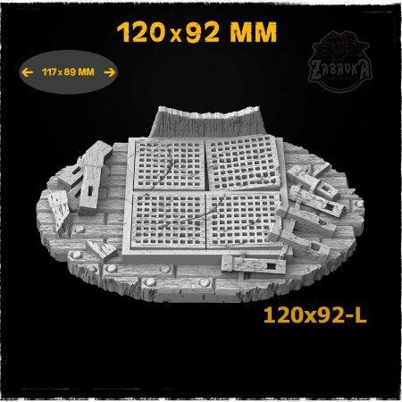 Pirate Ship - 120x92mm Resin Base Topper