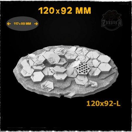 Hex Tiles - 120x92mm Resin Base Topper