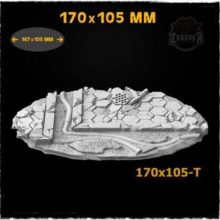 Hex Tiles - 170x105mm Resin Base Topper