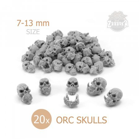 Orc Skulls 20 (28mm)