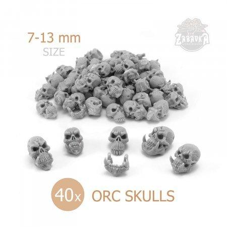 Orc Skulls 40 (28mm)