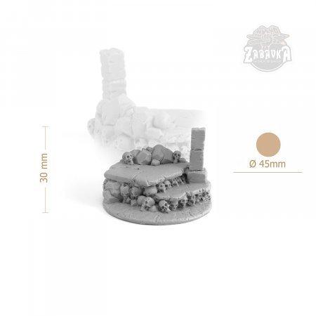 Skulls Resin Base (50mm)