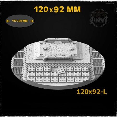 Cargo - 120x92mm Resin Base Topper