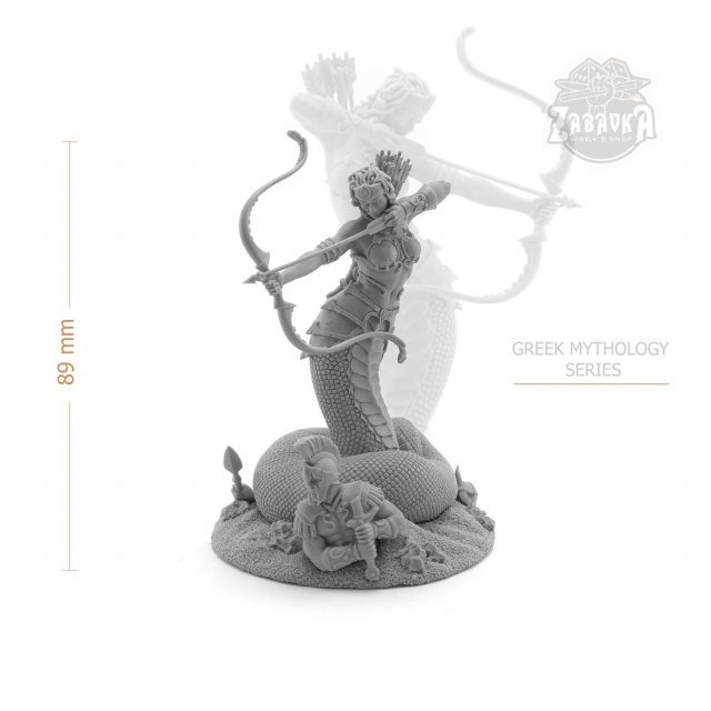 Medusa Gorgon (75mm)