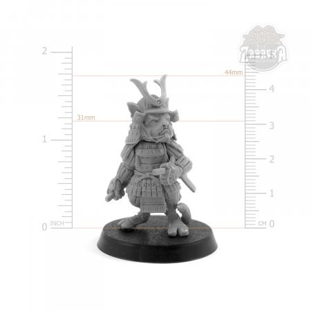 Samurai Cat (32mm)