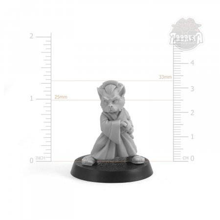 Onana-Bugeisha Cat (28mm)