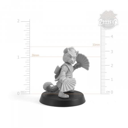 Gunsan Onana-Bugeisha Cat (28mm)