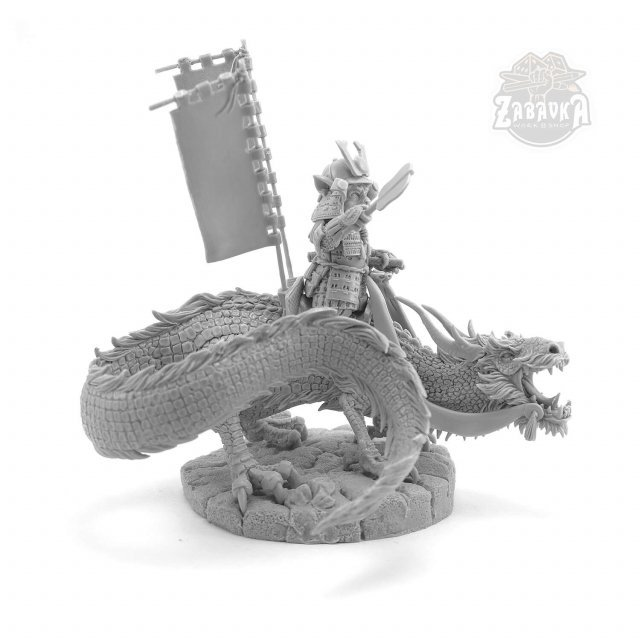 Daime Cat [The Dragon Rider] (32mm)