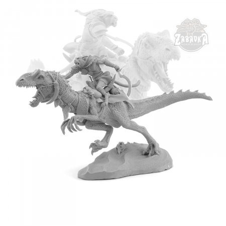 Kit: Raptor rider vs Dragon rider