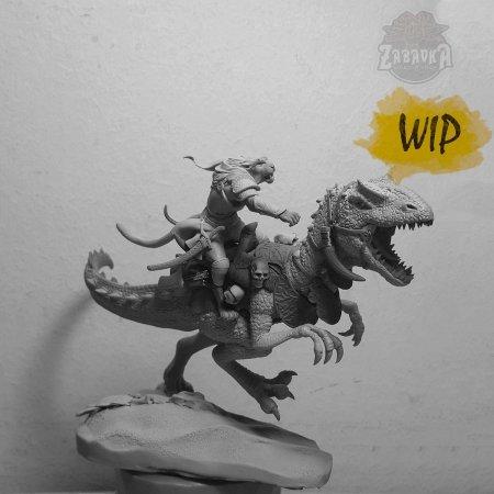 Raptor Rider (54mm)