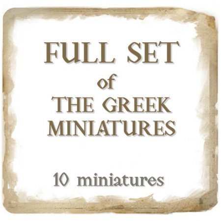 Full Set of the Greek Miniatures + FREE Gift Box